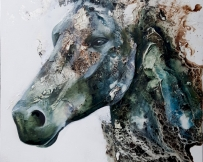 Alice Locoge - Tableaux : Animaux Evasion 64x54  cm