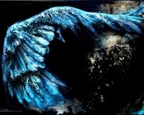 Alice Locoge - Tableaux : Animaux Phoenix  70x100 cm