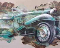 Alice Locoge : Tableaux - Belles Mecaniques Bugatti Classique