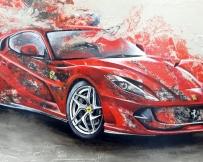 Alice Locoge : Tableaux - Belles Mecaniques Ferrari