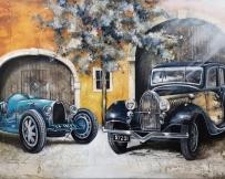 Alice Locoge : Tableaux - Belles Mecaniques Voiture Bugatti T35 T57