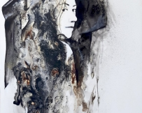 Alice Locoge - Tableaux : Nomades Alsacienne 70x100 cm