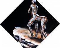 Alice Locoge - Tableaux : Nomades Centaure 100x100 2010