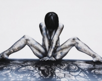 Alice Locoge - Tableaux : Nomades Encre 120x80