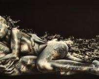 Alice Locoge - Tableaux : Nomades L'Etale 150x50 cm