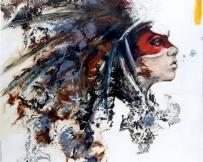 Alice Locoge - Tableaux : Nomades l'envole des bulles