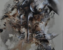Alice Locoge - Tableaux : Nomades une certaine prestance 80x100 cm
